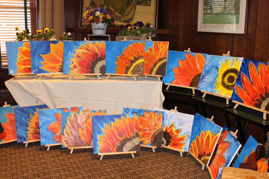 finished-sunflower-paintings