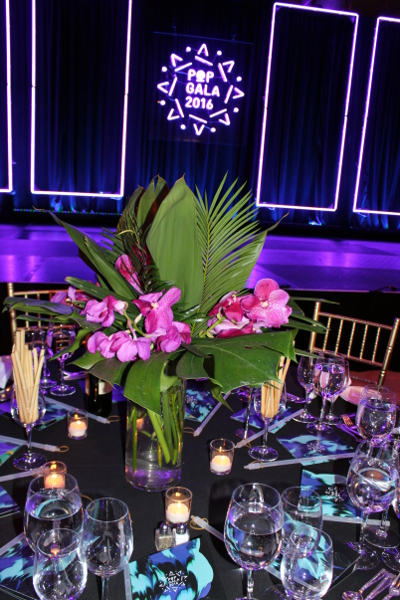 pencils of promise tropical flower centerpieces