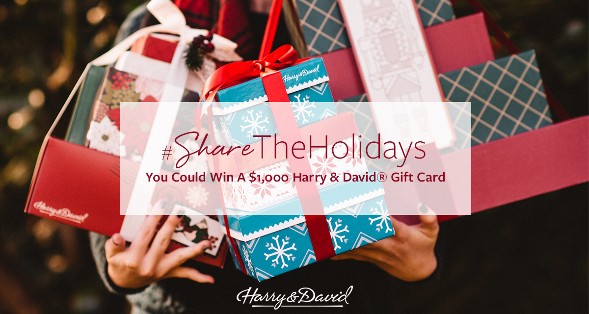 Harry & David #ShareTheHolidays Sweepstakes
