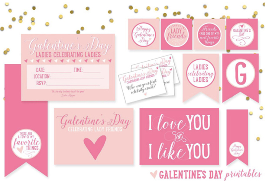 Galentine's Day Printables