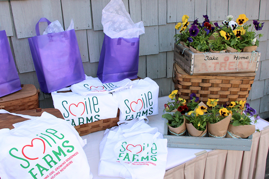 Smile Farms Paint Nite Goodie Bags