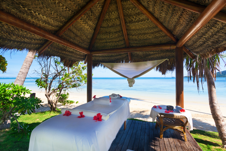 Tropical Massage in Bora Bora