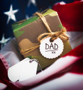 Military package for Dad