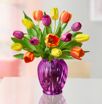 Assorted Tulip arrangement