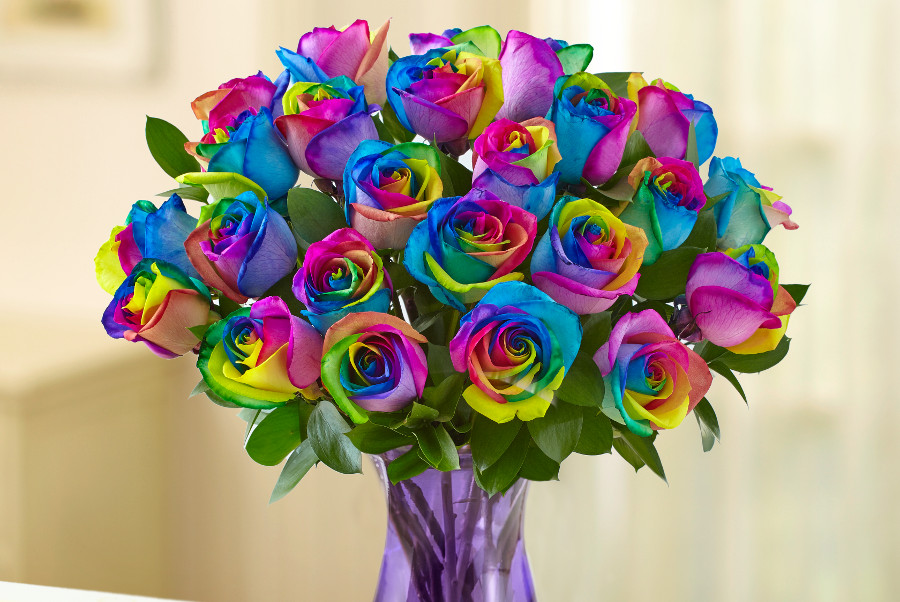 rainbow-rose-flower-bouquet