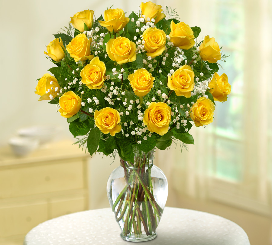 Wedding Flowers Yellow Roses: Wedding Anniversary Flowers By Years Of Marriage