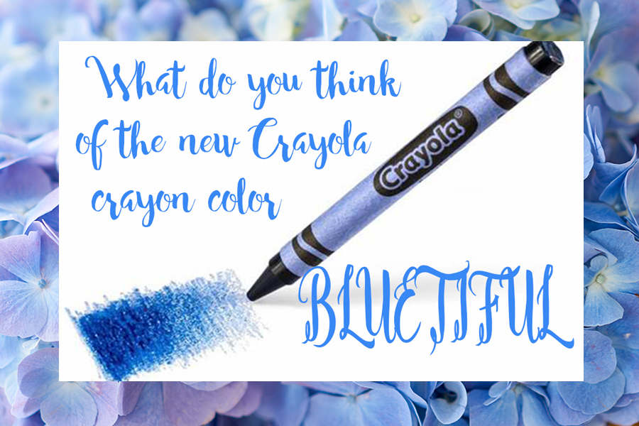 Bluetiful Crayola Crayon