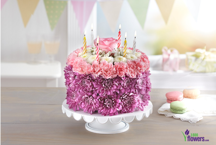 All About 1 800 Flowers Flower Birthday Cakes