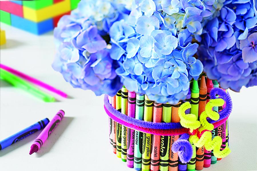 Crayon Vase