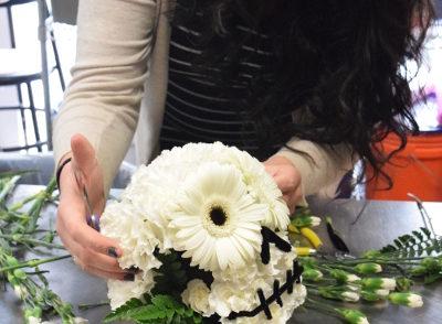 Sarah Annunziato Styling Flowers