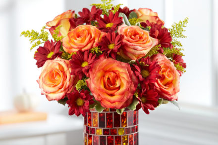 Amber Waves Bouquet Flower
