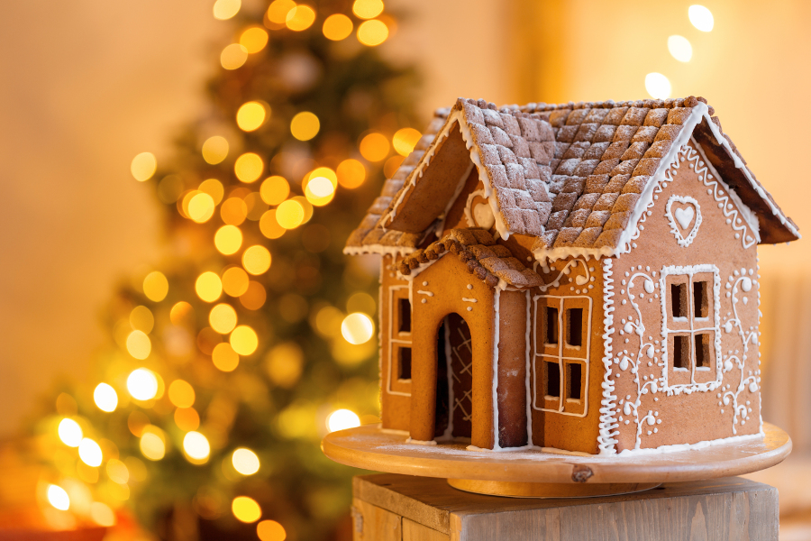 gingerbread house christmas holiday guide