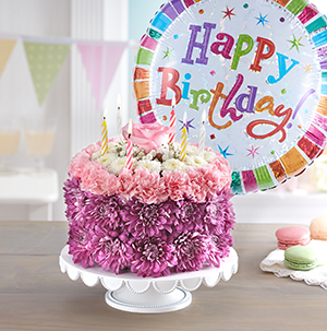 Flower Birthday Cakes Come In Different Colors And Types Make The Perfect Centerpiece For Any Photo Op