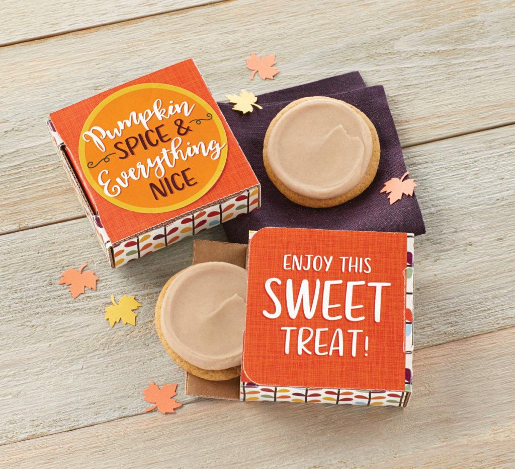 pumpkin spice cookie cards
