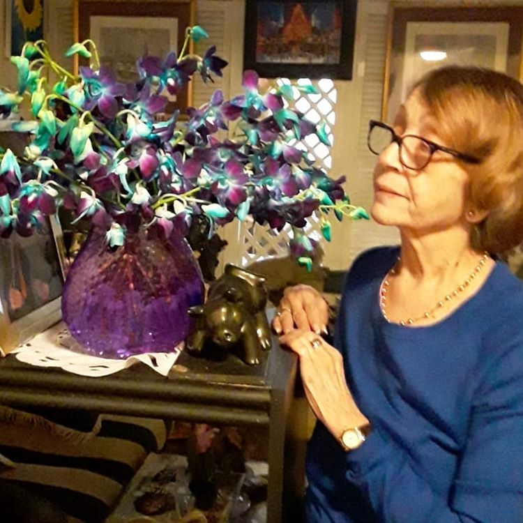 Sending Mom Flowers from Across the Country for Her Birthday