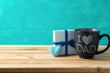 I Love Dad mug