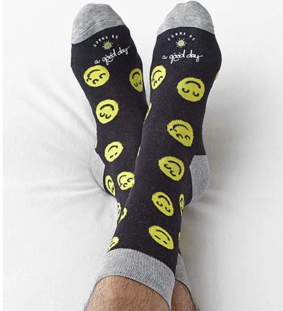 Happy face socks