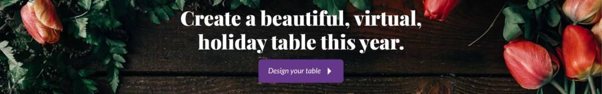 Tablescape Ad