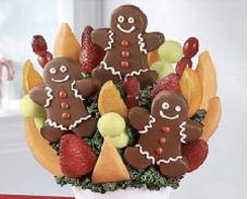 Pineapple gingerbread bouquet