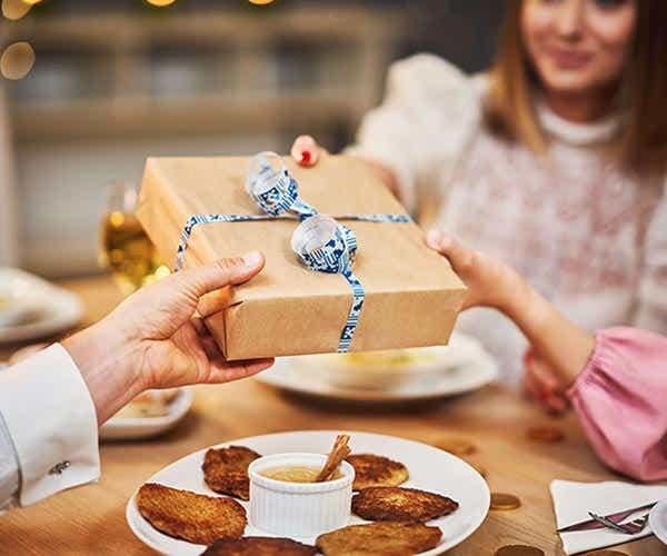 Hanukkah gift exchange