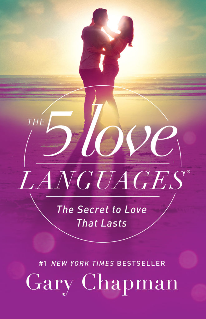 "The cover of Gary Chapman's book, ""The 5 Love Languages"""