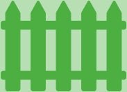 caring for bulbs outdoor fence icon