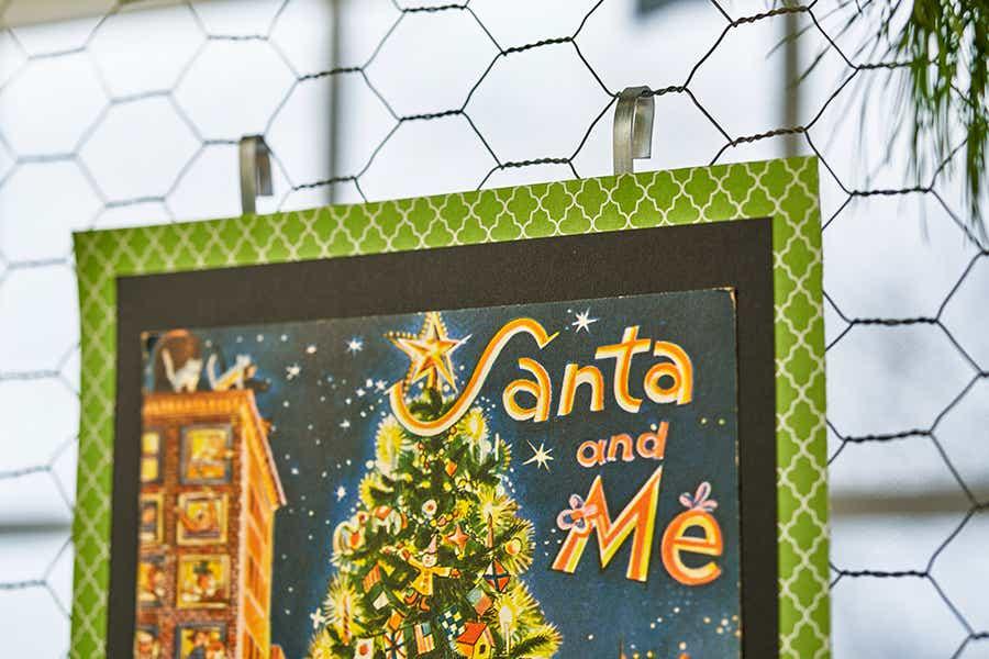 Santa and me card