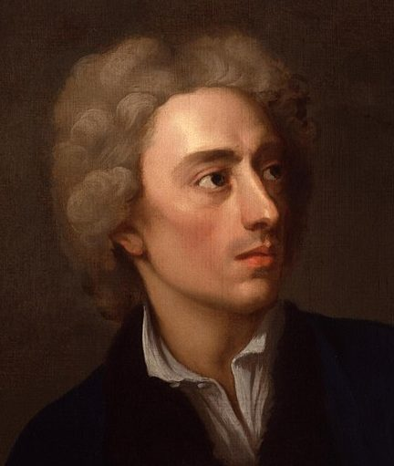 A painting of the poet Alexander Pope