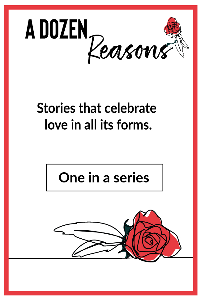 "Badge for ""A Dozen Reasons"""