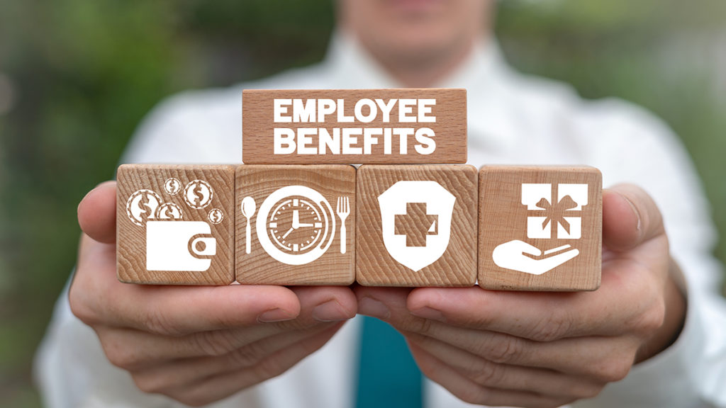 Blocks of employee benefits