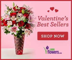 Best selling Valentine's Day flowers and gifts