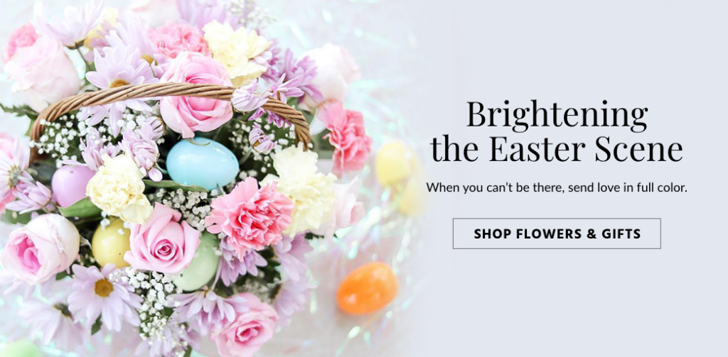 Easter banner ad