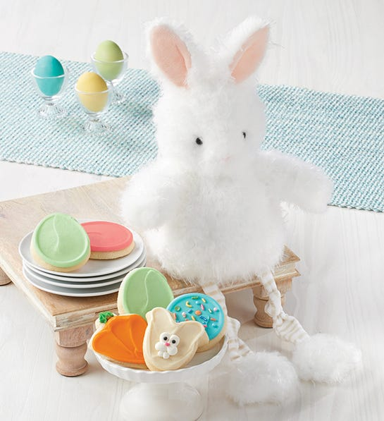 Easter Bunny and Cookies