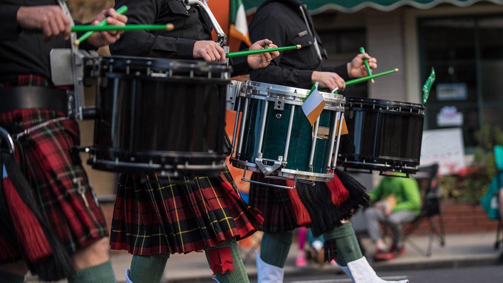 Irish marching band