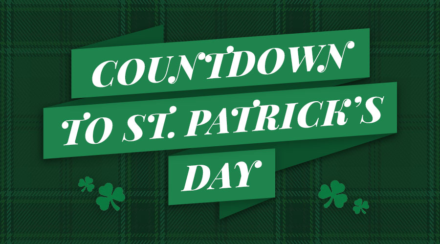 Countdown to St. Patrick's Day