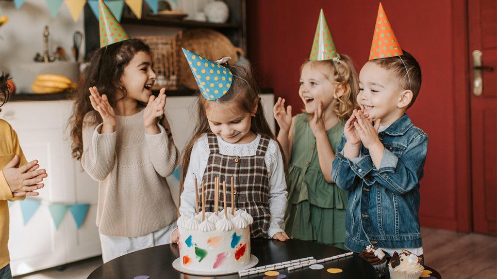 """Kids singing """"Happy Birthday"""""""