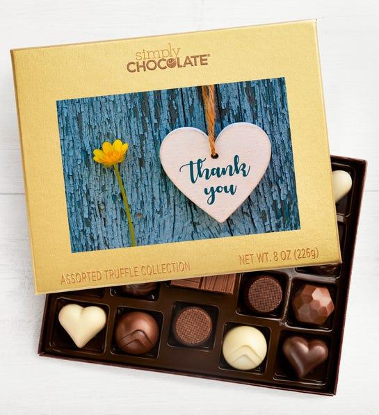 Thank You Heart Chocolates