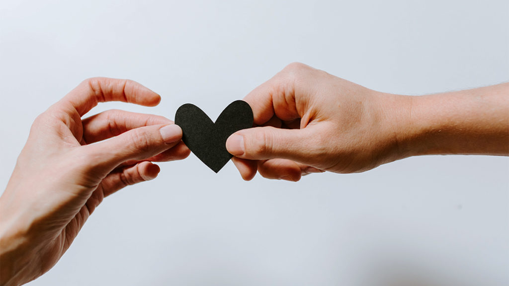 Connecting to a friend or support group when mourning to have a listening ear