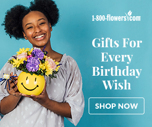 An ad showing gift ideas for October birthdays.