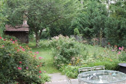 Cottagecore garden shed