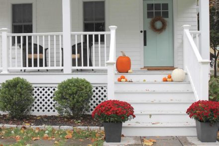 Picture of front porch ideas for fall