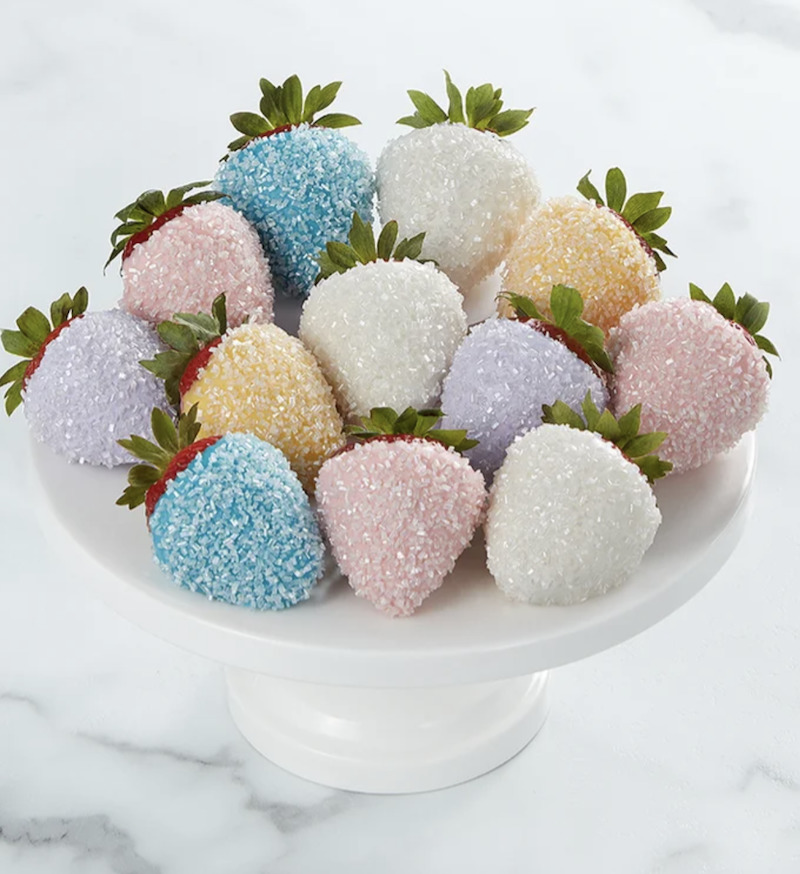 Photo of popular employee gift-- Unicorn Sparkle Strawberries